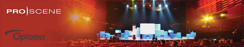 Ultimate Presentation Systemsrentals Optoma ProScene projectors image